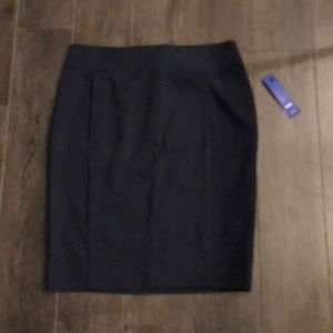 Navy Blue Pencil Skirt new with tags